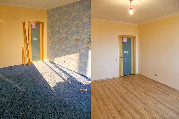 учительница бюджетный ремонт квартиры фото до и после чаще других